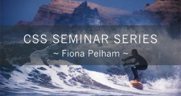 Seminar Series – Fiona Pelham