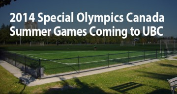 2014 Special Olympics Canada Summer Games Coming to UBC