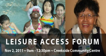 CSS Sponsors the Leisure Access Forum