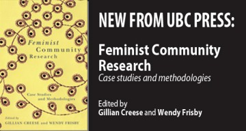 Feminist Community Research book published