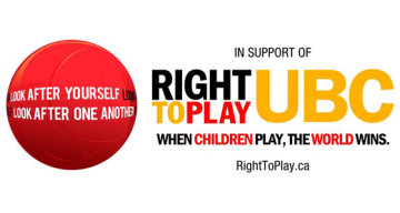 Introducing Right To Play UBC